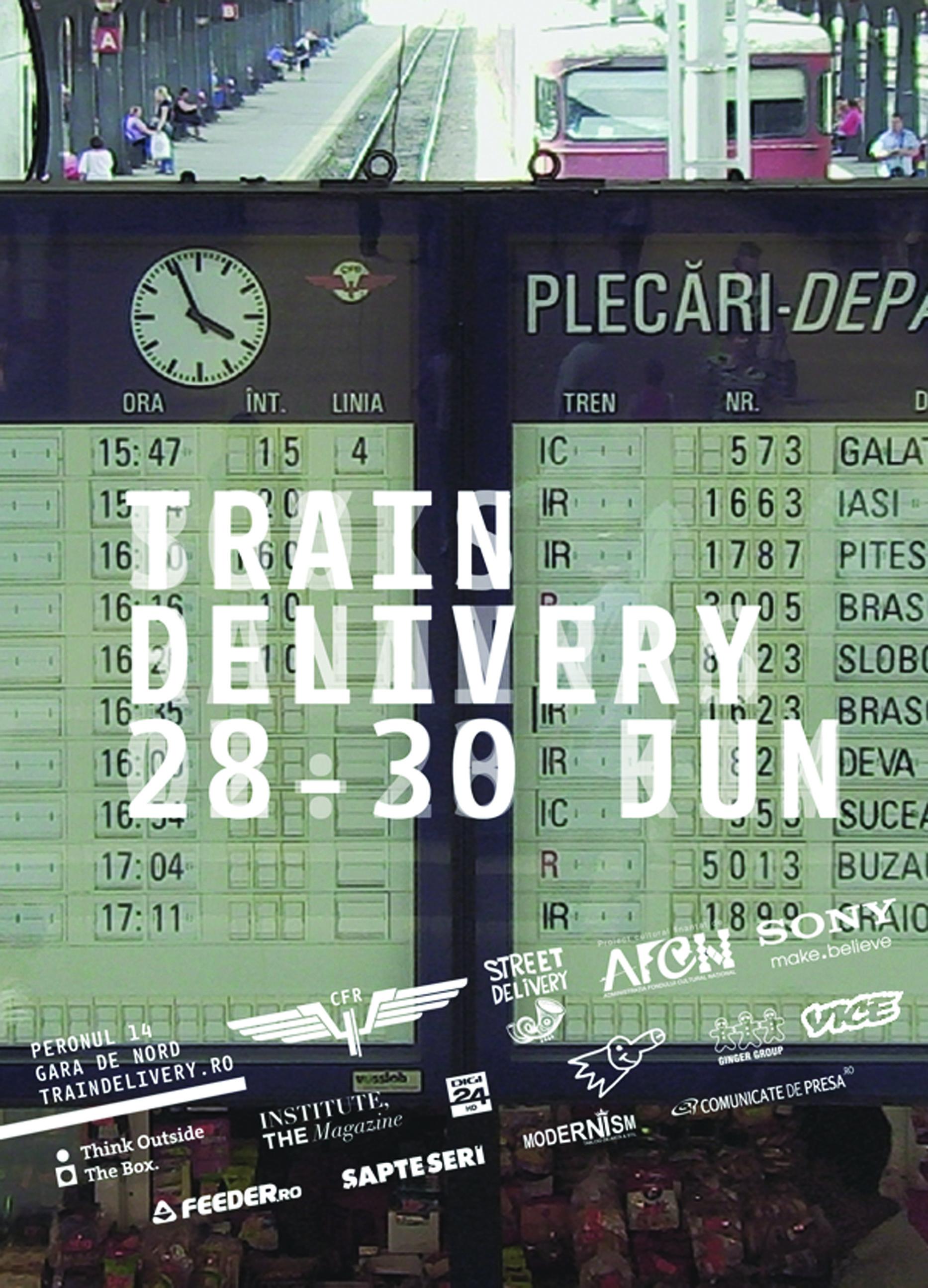 train denivery