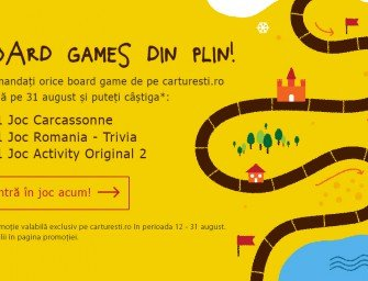 Board games din plin pe carturesti.ro!