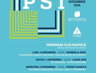 Săptămâna PSI la Cărturești / 3-9 noiembrie 2014