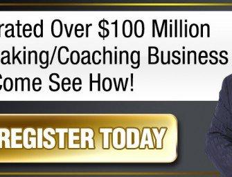 Seminar gratuit de marketing susţinut de Gerry Robert autorul bestsellerului The Milionaire Mindset
