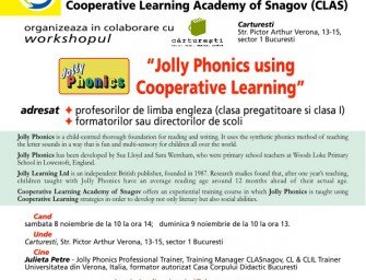 Jolly Phonics using Cooperative Learning