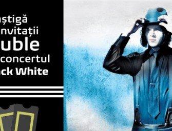 Concurs: Câștigă 2 invitații duble la concert Jack White