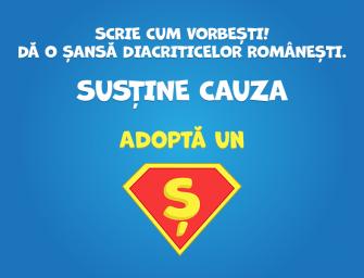 Adoptă un Ș – sau cum să redescoperi limba română