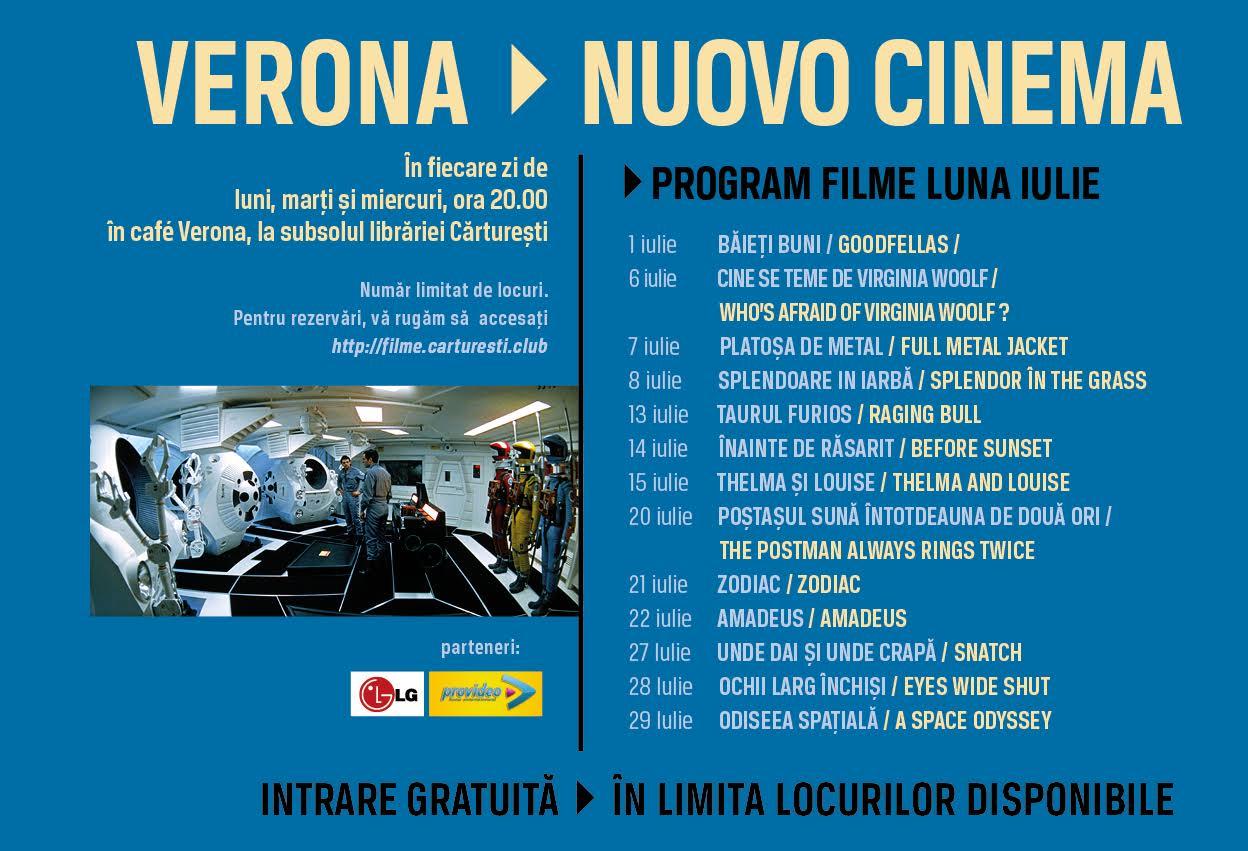 Program filme iulie