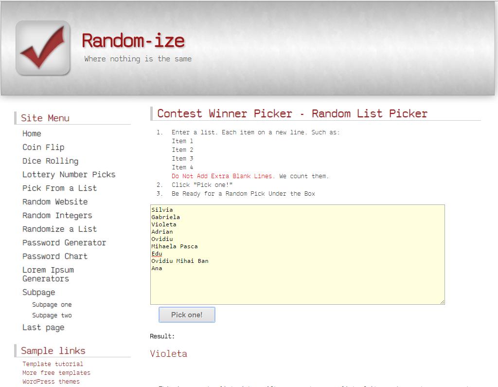 random concurs2
