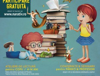 Asociația Curtea Veche organizează NARATIV – Festivalul de lectură pentru copii