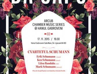 DA CAPO ARCUB CHAMBER MUSIC SERIES @ HANUL GABROVENI
