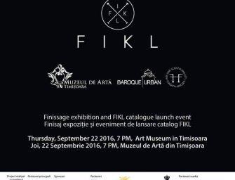 Finisajul expoziției Baroque||Urban acompaniat de lansarea catalogului Fikl