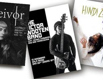 5 concerte Twin Arts în toamnă
