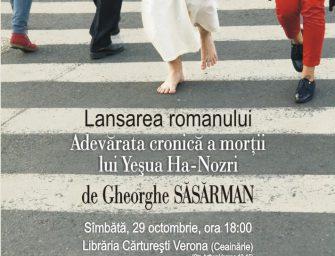 """Întâmplări însemnate în """"Adevărata cronică a morții lui Yeșua Ha-Nozri"""""""