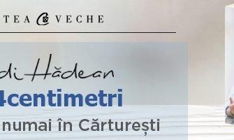 Concurs: Câștigă cartea #24centimetri, de Adi Hădean