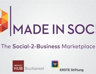 20 de afaceri sociale selectate în programul Made in Social prezintă companiilor produse și servicii de impact