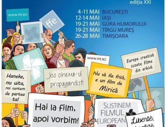 Festivalul Filmului European vă pregătește de film, artă și dezbateri