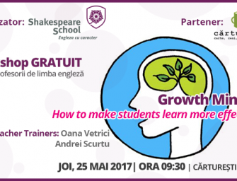 Growth Mindset – How to make students learn more effectively