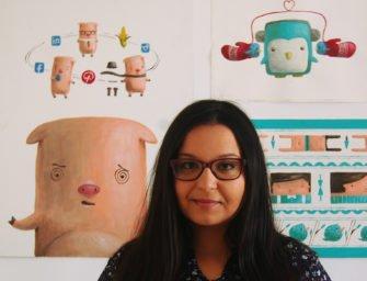 #Stop_Pagina_Mea: ilustratoarea Andra Badea despre viața de școlar