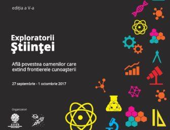 Începe o nouă ediție a Bucharest Science Festival