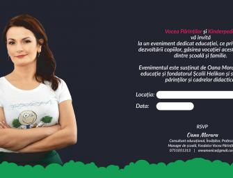 Concurs! 5 invitații pentru seminarul cu Oana Moraru – 5 mai