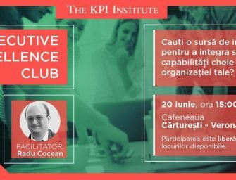 Capabilități organizaționale și excelență – la prima ediție a Executive Excellence Club