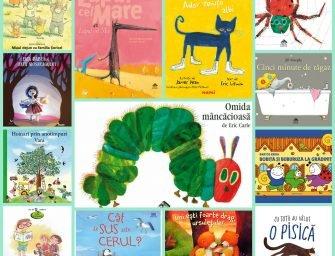 13 cărți de răsfoit alături de cei mai mici dintre cititori (0-3 ani)
