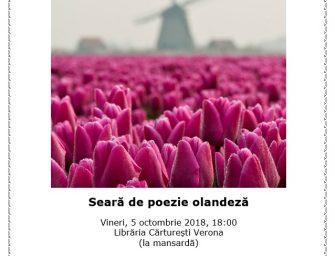 Seară de poezie olandeză