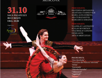 Bolshoi Theatre Ballet – 31 octombrie, la București