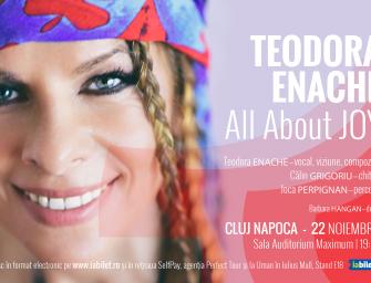 Teodora Enache pune în scenă bucuria în cheie jazz