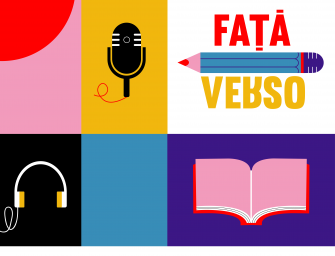 """""""Față/Verso"""" – un podcast cu cititori binedispuși"""