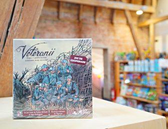 Boardgame: Veteranii. Un omagiu adus celor care au luptat în Marele Război